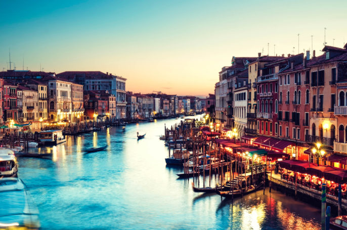 Grand Canal, Venice – Italy