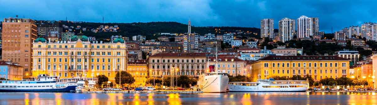 View of Rijeka city in Croatia shutterstock_225579808-2