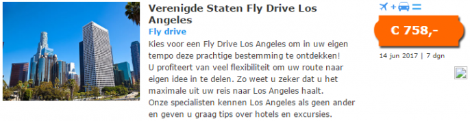 fly drive los angeles