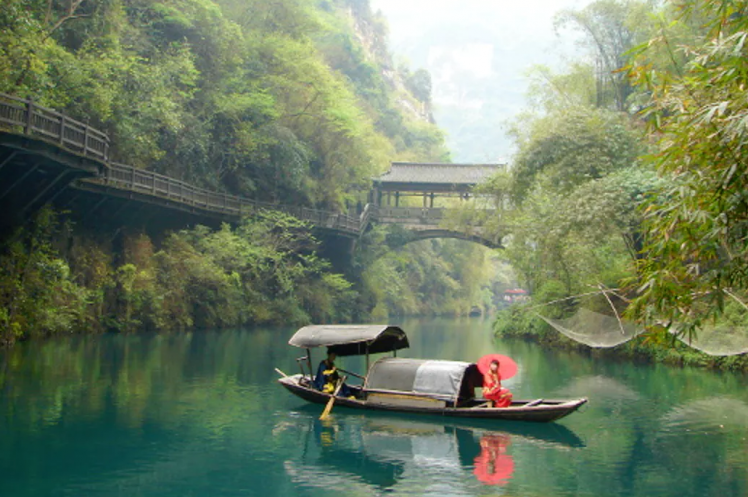 Rivier in China