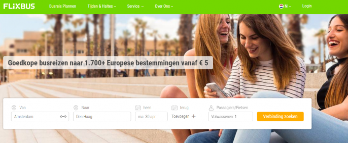 Screenshot Flixbus deal