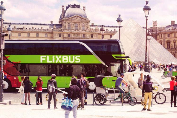 Flixbus in Parijs