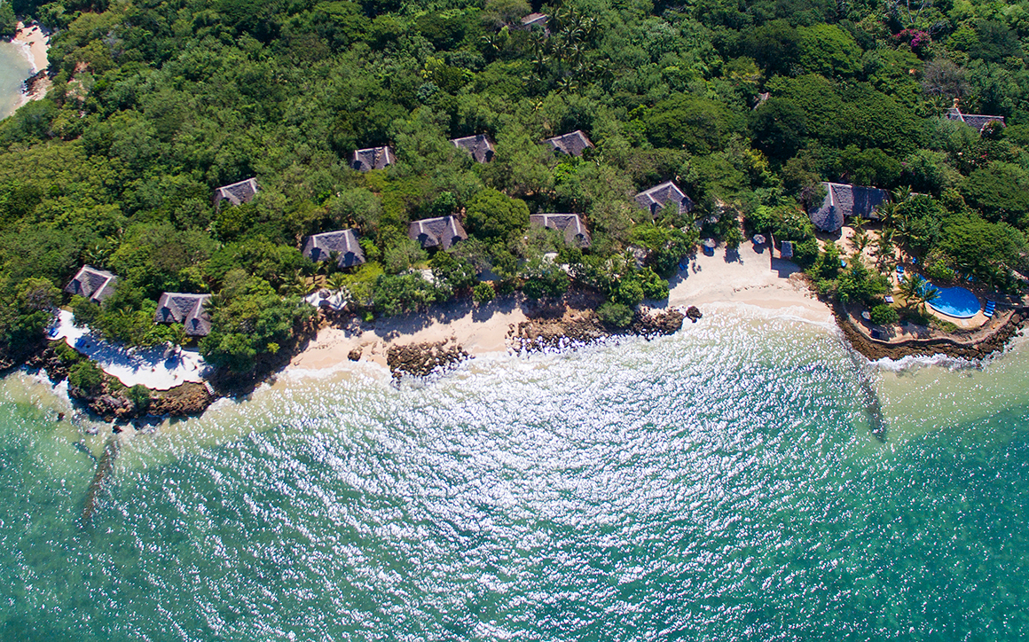 Fumba Beach Lodge Zanzibar Panorama