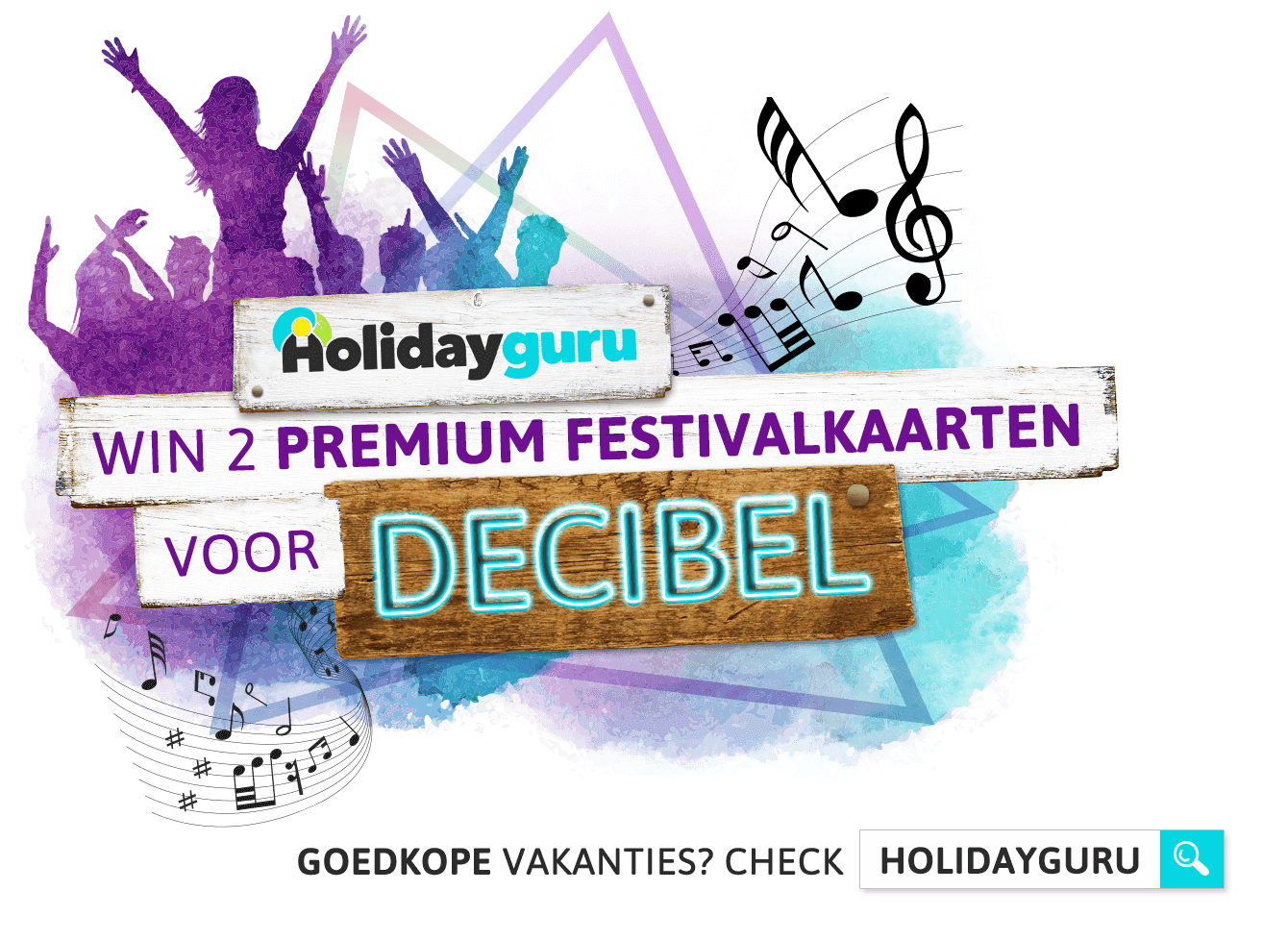 Win tickets voor Decibel