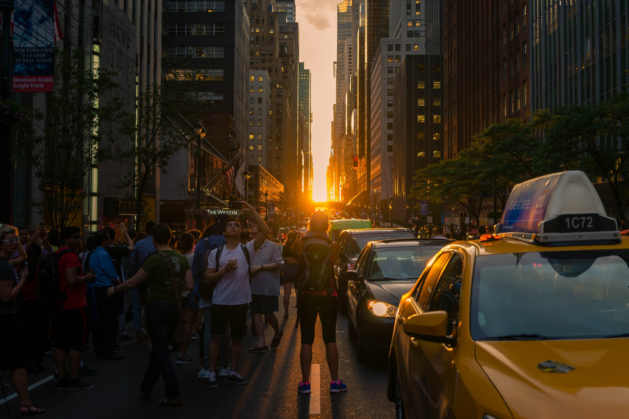 Manhattanhenge New York