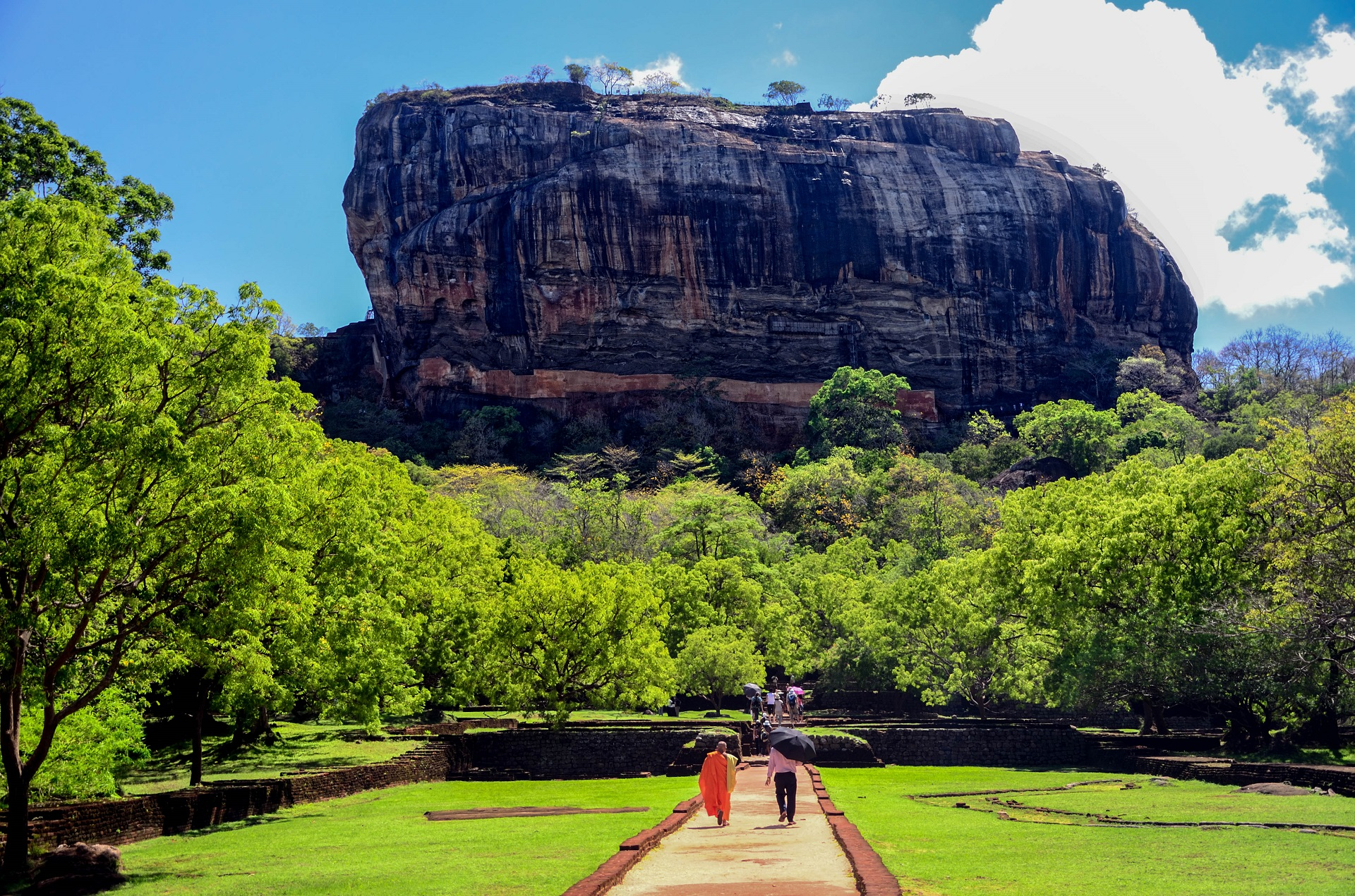 Lion's rock, Sigiriya