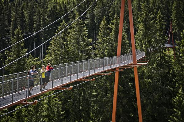Golden Gate Bridge in Saalbach Hinterglemm