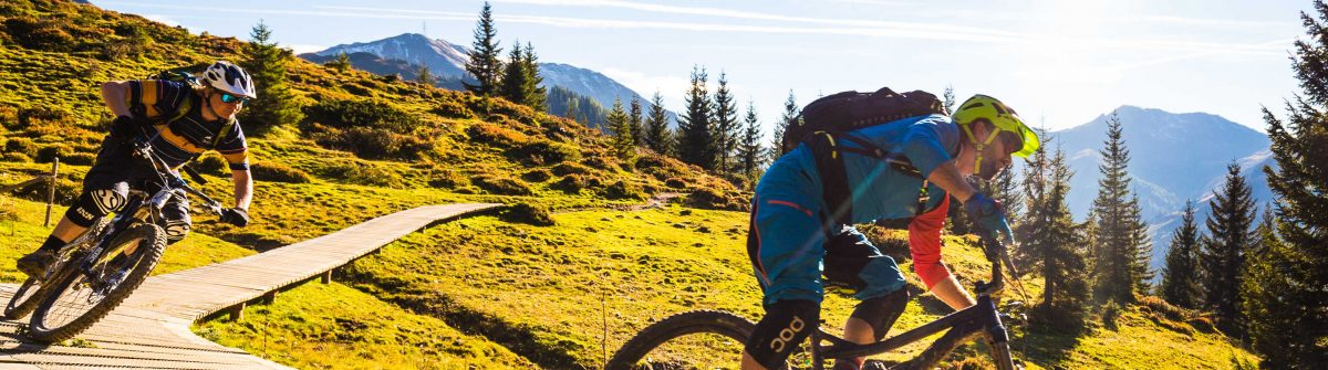 mountainbiken in saalbach-hinterglemm