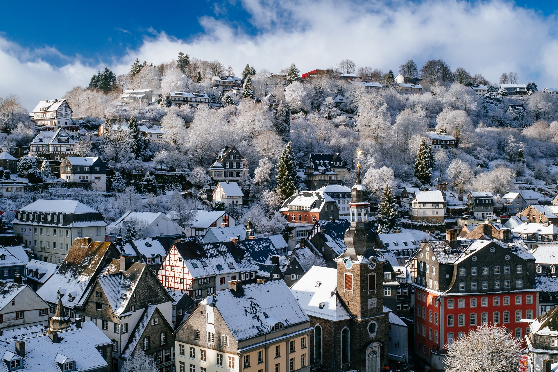 monschau in de winter
