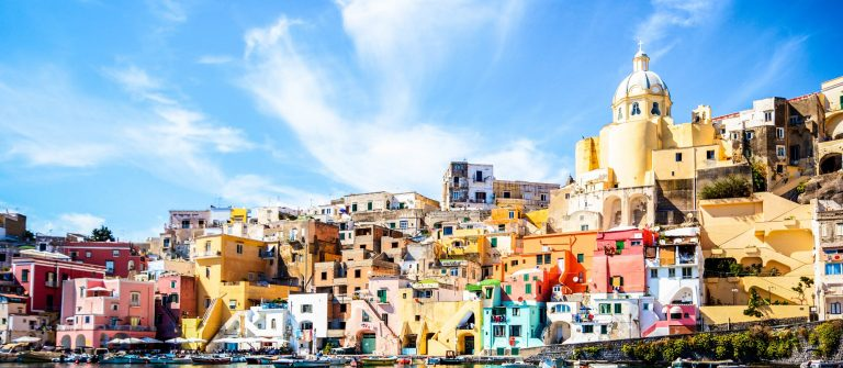Procida-colorful-island-in-the-Mediterranean-Sea-Coast-Naples-Italy-iStock_000058345272_Large-2