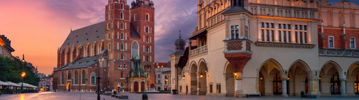 Krakow-Old-Town-sunset-shutterstock_684786751