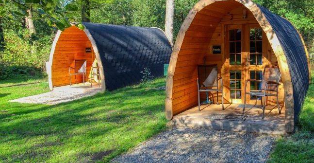 Pods op camping de Berenkuil